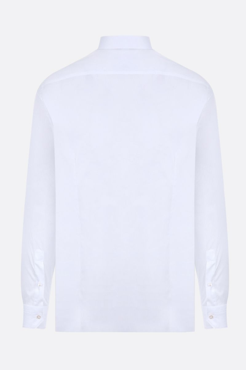 ERMENEGILDO ZEGNA: Trofeo cotton shirt Color White_2