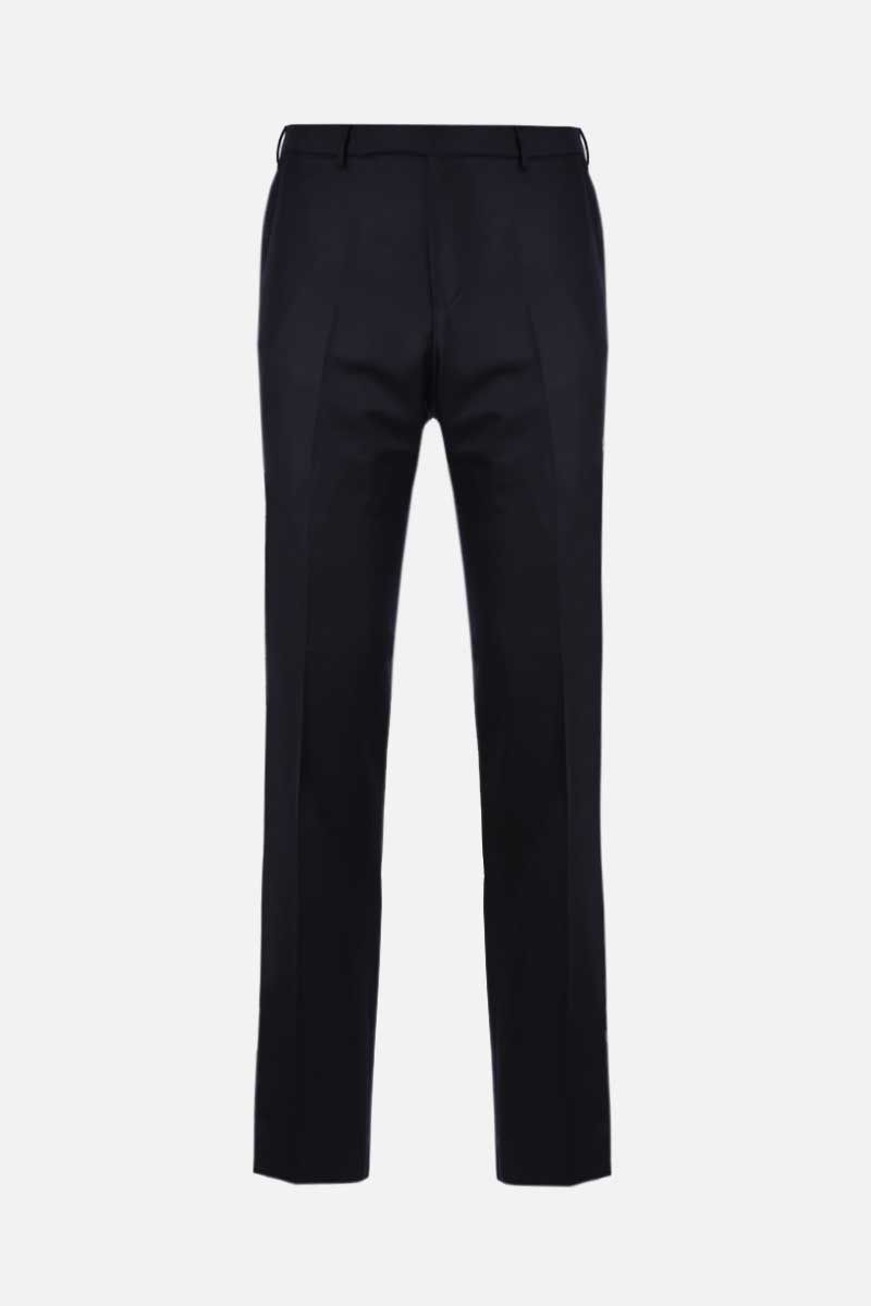 ERMENEGILDO ZEGNA: wool slim-fit pants Color Blue_1