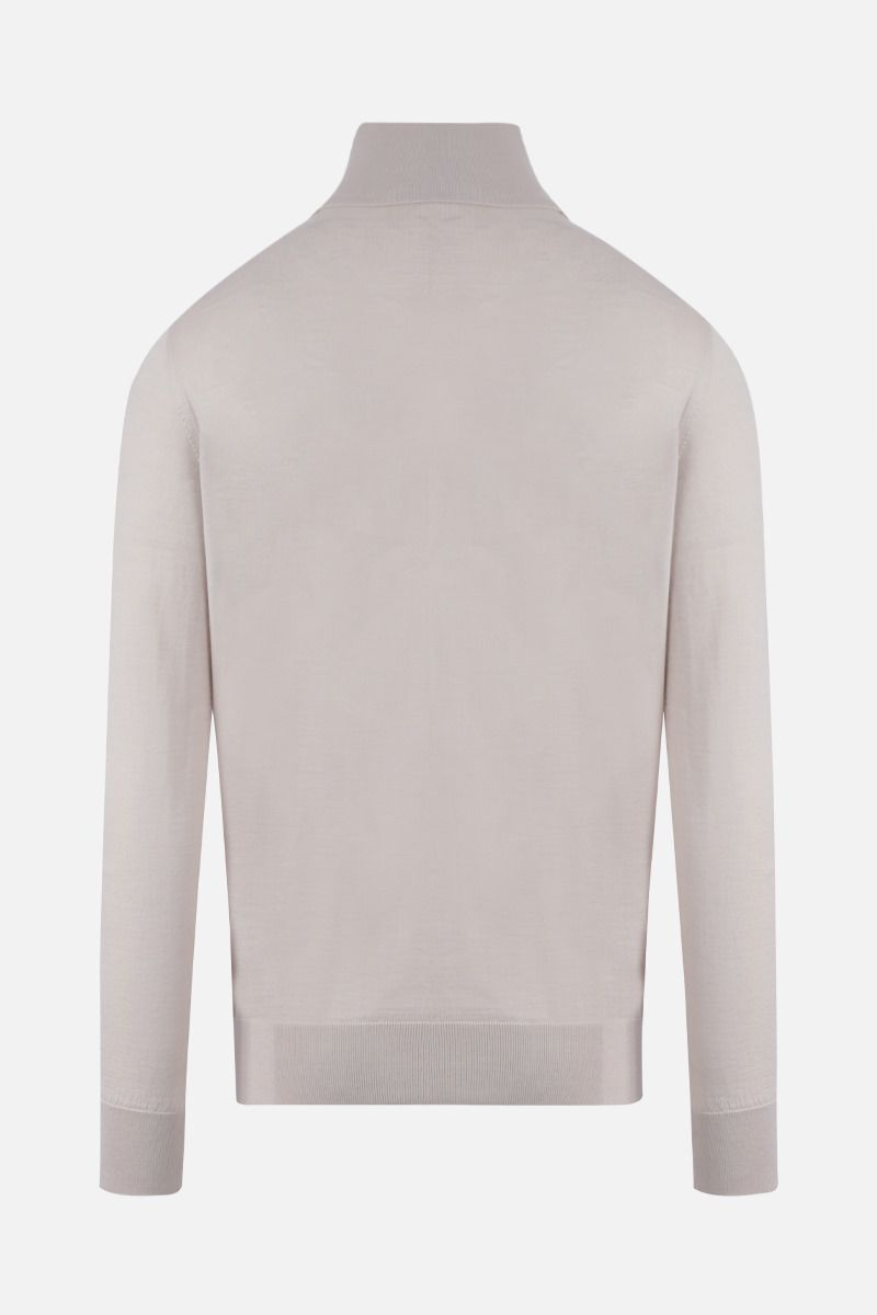 ERMENEGILDO ZEGNA: cashmere silk blend turtleneck Color Neutral_2