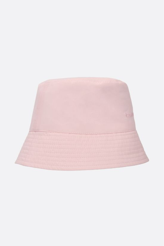 RUSLAN BAGINSKIY: logo embroidered nylon bucket hat Color Pink_2