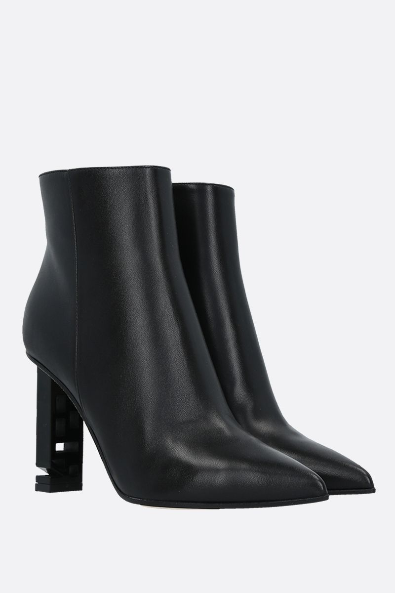 SERGIO ROSSI: Sergio Super Heel soft nappa booties Color Black_2