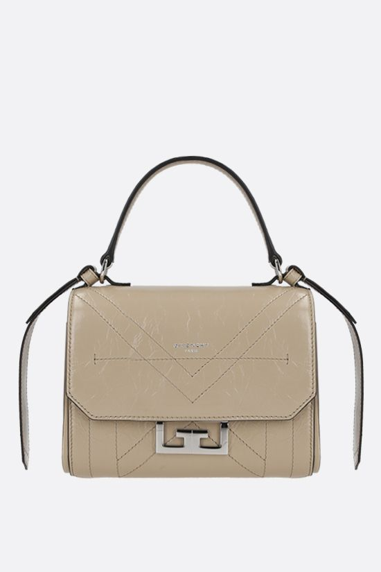 GIVENCHY: Eden mini handbag in Vintage leather Color Neutral_1