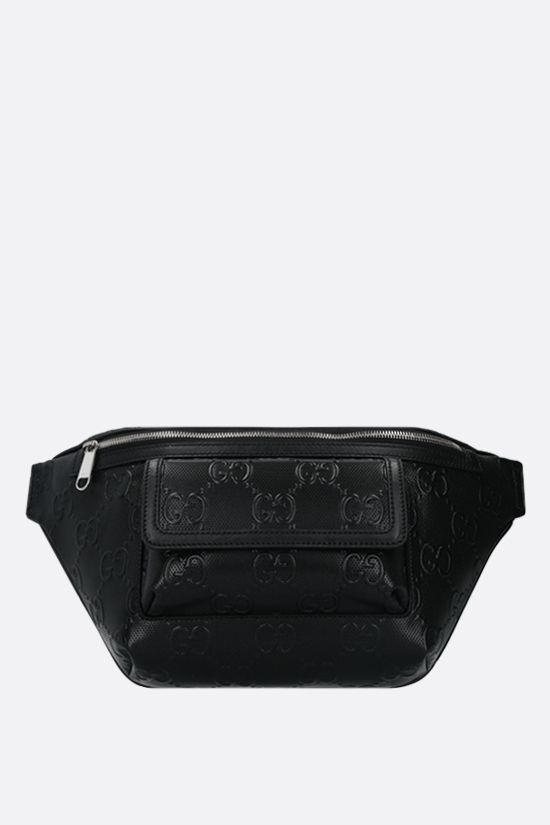 GUCCI: GG leather belt bag Color Black_1