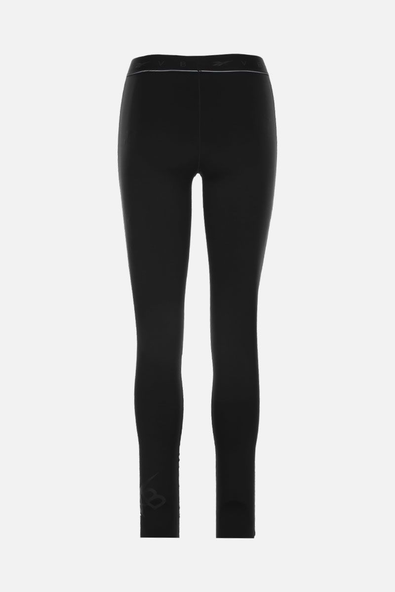 REEBOK X VICTORIA BECKHAM: RBK Victoria Beckham technical jersey performance tights Color Black_2