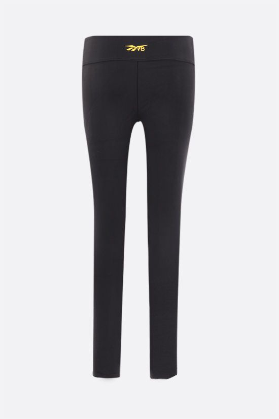 REEBOK X VICTORIA BECKHAM: Reebok Victoria Beckham technical jersey cropped leggings Color Black_2