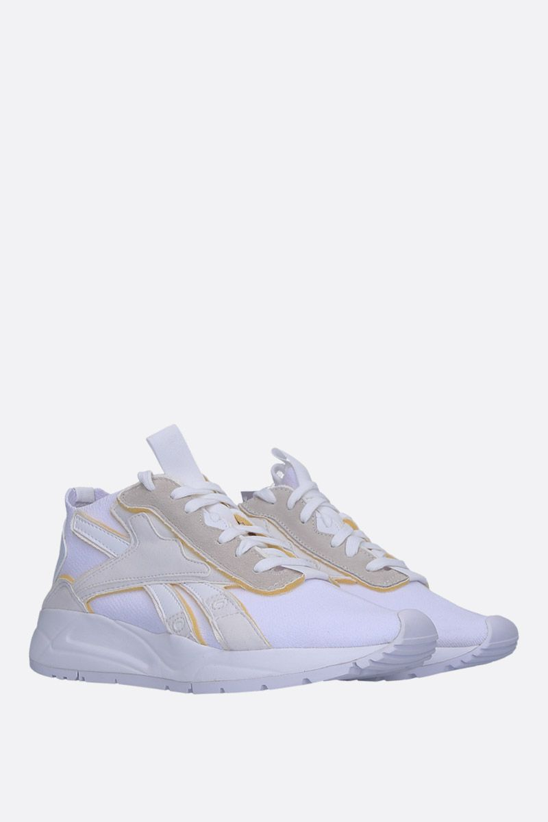 REEBOK X VICTORIA BECKHAM: VB Bolton sneakers in stretch knit Color White_2