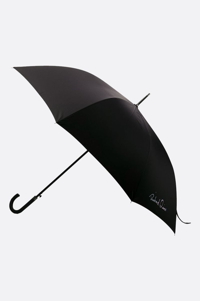 RICHARD QUINN: Richard Quinn print nylon umbrella Color Black_2