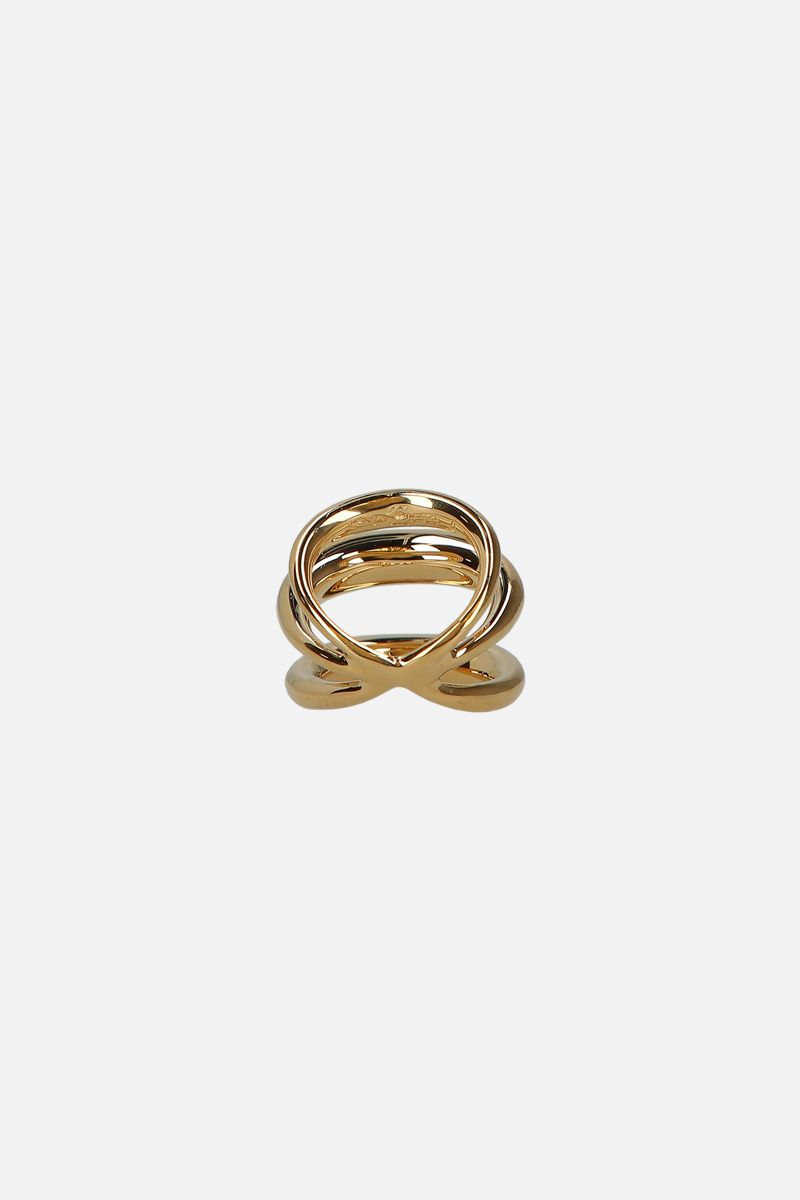 CHARLOTTE CHESNAIS: Echo ring in gold vermeil Color Gold_2