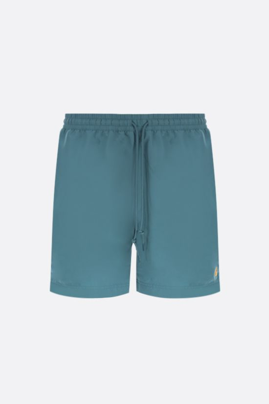 CARHARTT WIP: Chase nylon swim shorts Color Blue_1