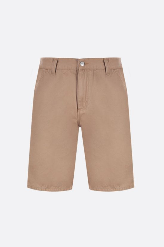 CARHARTT WIP: Ruck Single Knee cotton shorts Color Yellow_1