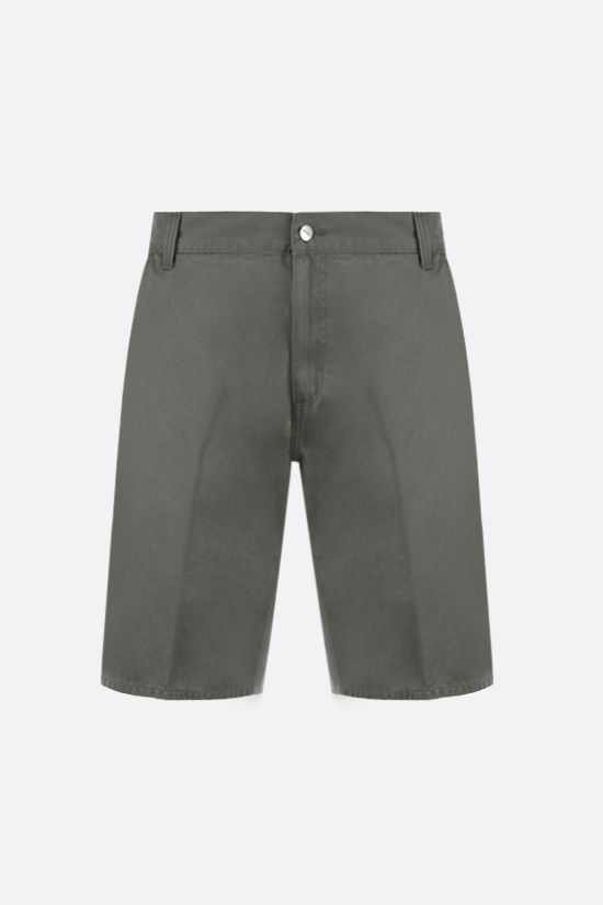 CARHARTT WIP: Ruck Single Knee cotton shorts Color Green_1