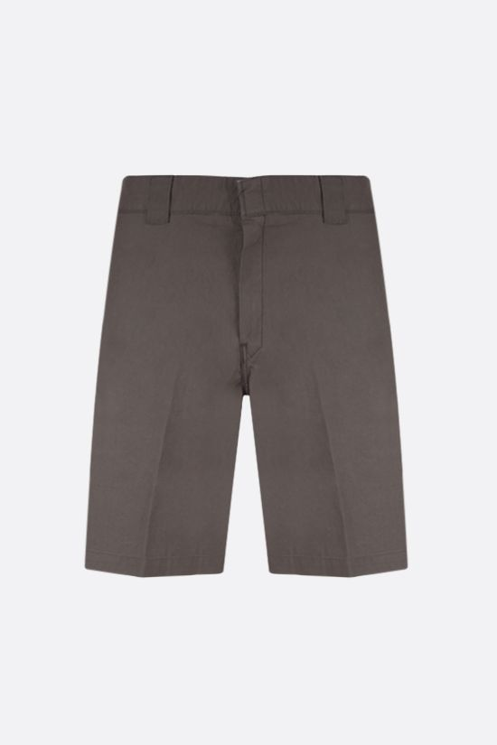 CARHARTT WIP: Master stretch cotton shorts Color Green_1