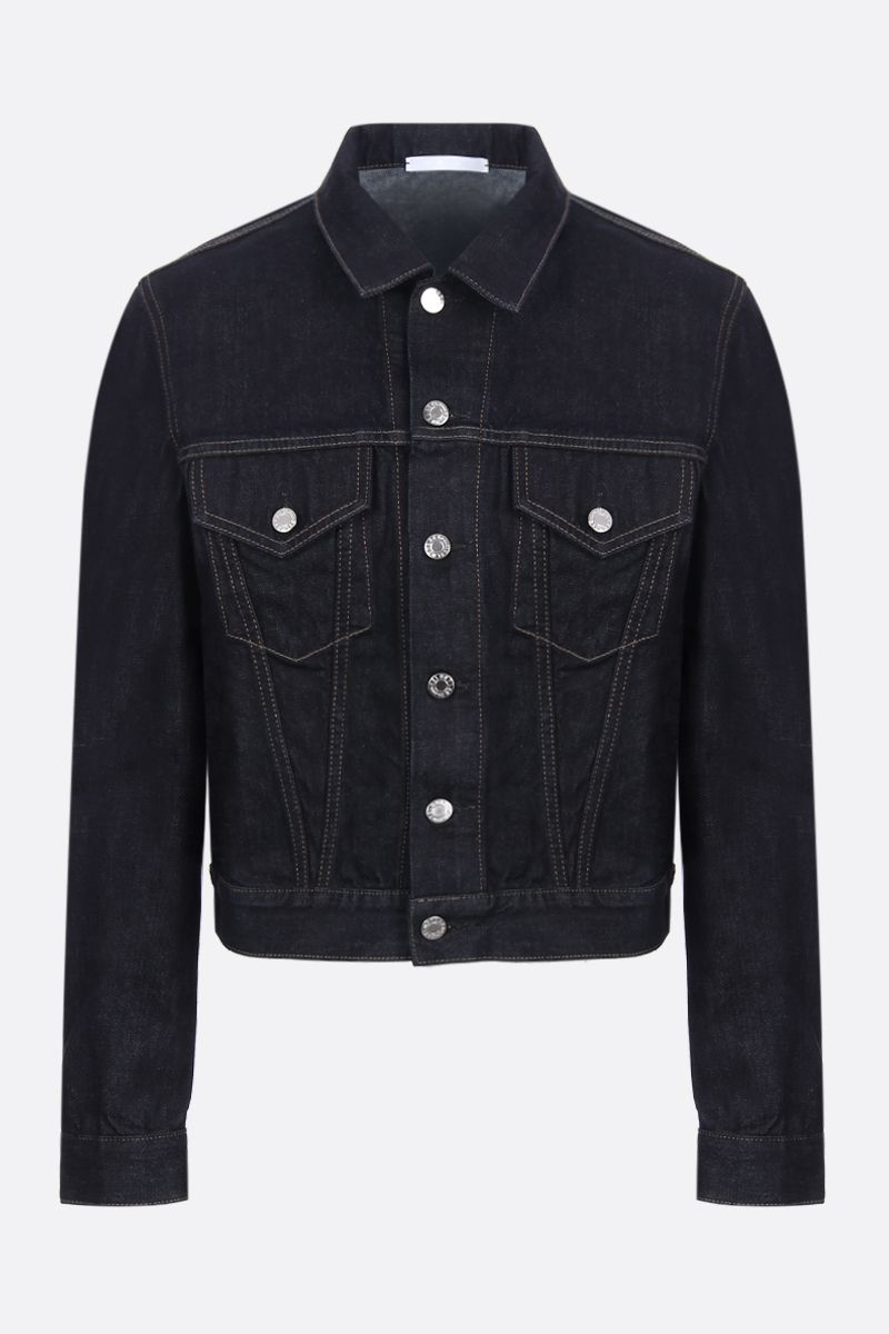 HELMUT LANG: Masc Trucker denim jacket Color Blue_1