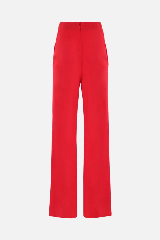 ALEXANDRE VAUTHIER: wide-leg stretch jersey pants Color Black_2
