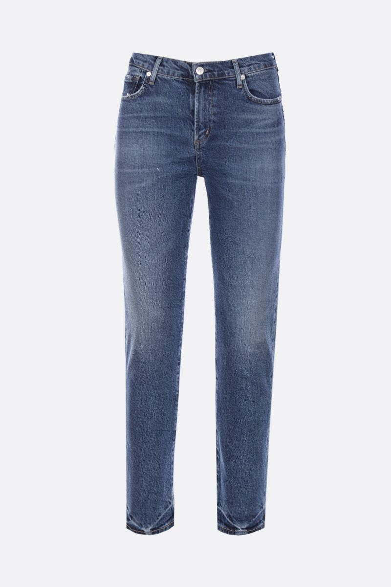 CITIZENS OF HUMANITY: Harlow slim-fit jeans Color Blue_1