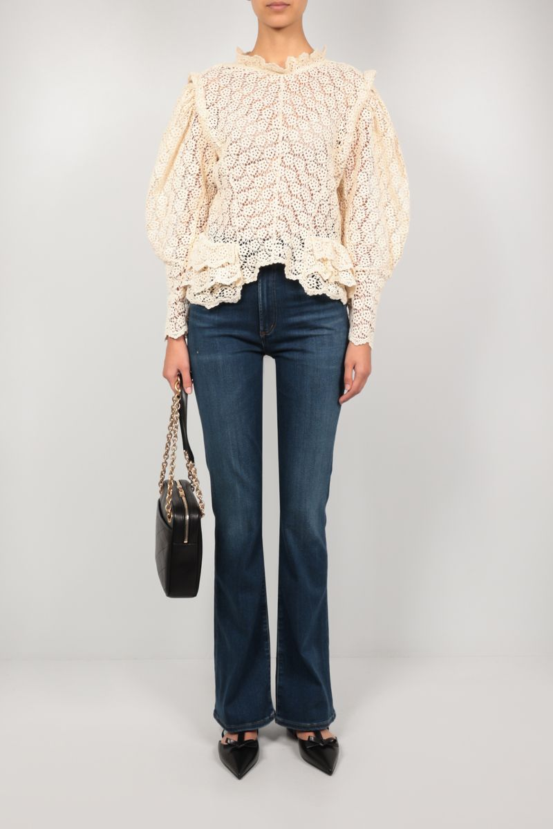 CITIZENS OF HUMANITY: Lilah bootcut jeans Color Blue_2