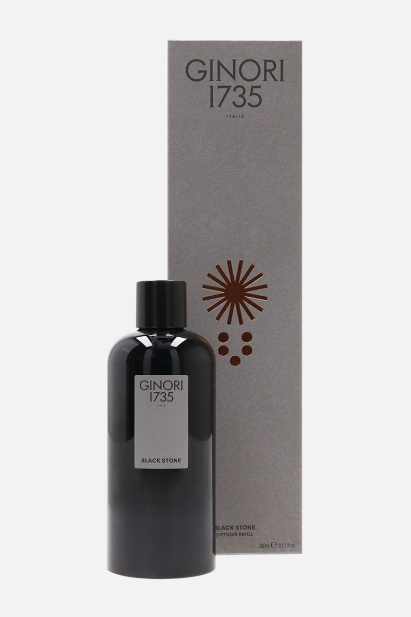 GINORI 1735: Black Stone diffuser refill with six reeds Color Neutral_2