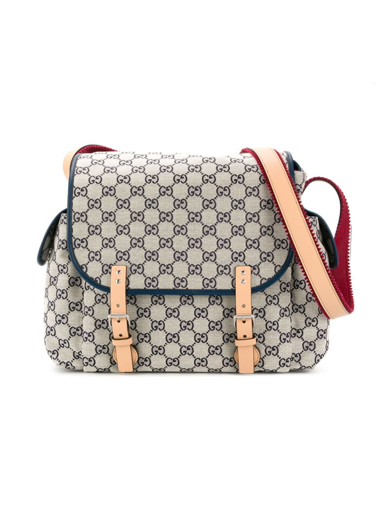 GUCCI CHILDREN: GG canvas changing bag_1