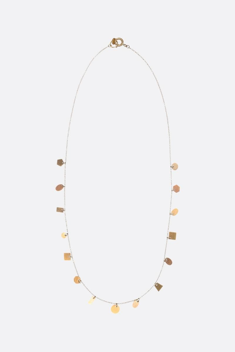 LIA DI GREGORIO: Forme gold necklace Color Gold_1
