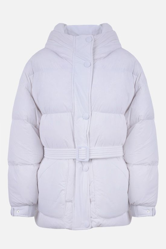 IENKI IENKI: Michlin oversize stretch nylon down jacket Color White_1
