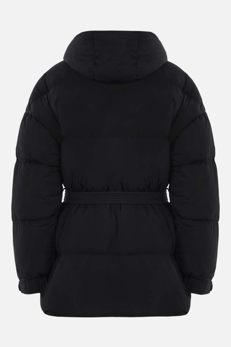 IENKI IENKI: Michlin oversize stretch nylon down jacket Color Black_2