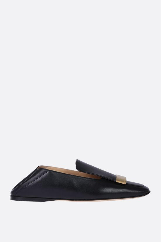SERGIO ROSSI: sr1 soft nappa slippers Color Black_2