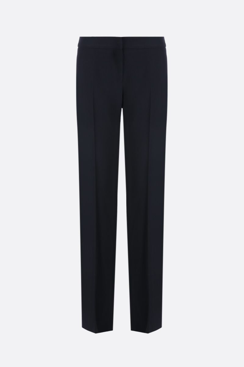 TOM FORD: texudo pants with satin bands Color Black_1
