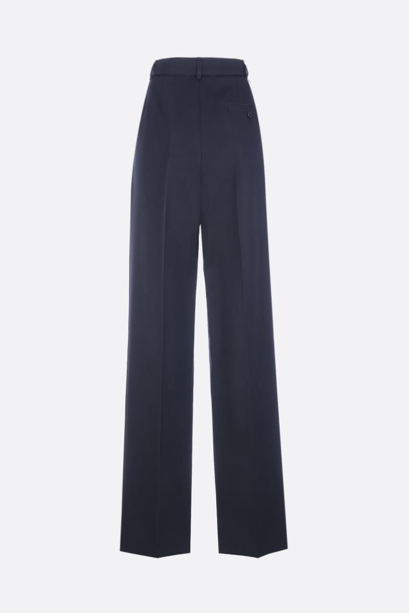 GIVENCHY: wool straight-leg pants Color Black_2
