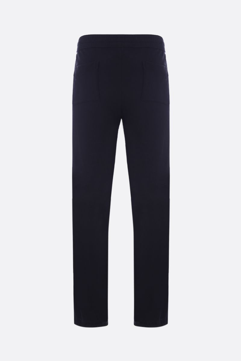 JAMES PERSE: pantalone jogging in jersey Colore Nero_2