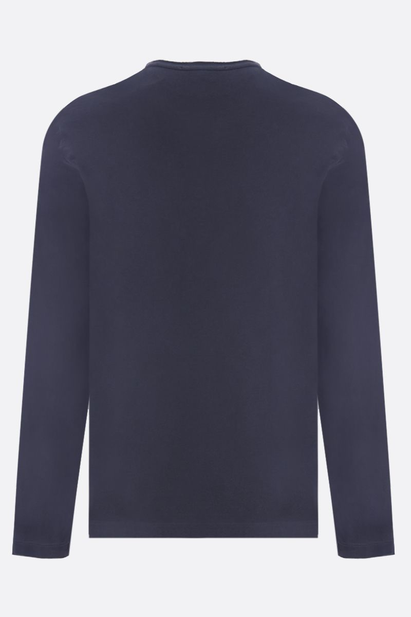 JAMES PERSE: long-sleeved cotton t-shirt Color Black_2