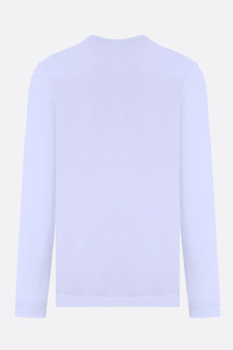 JAMES PERSE: long-sleeved cotton t-shirt Color White_2