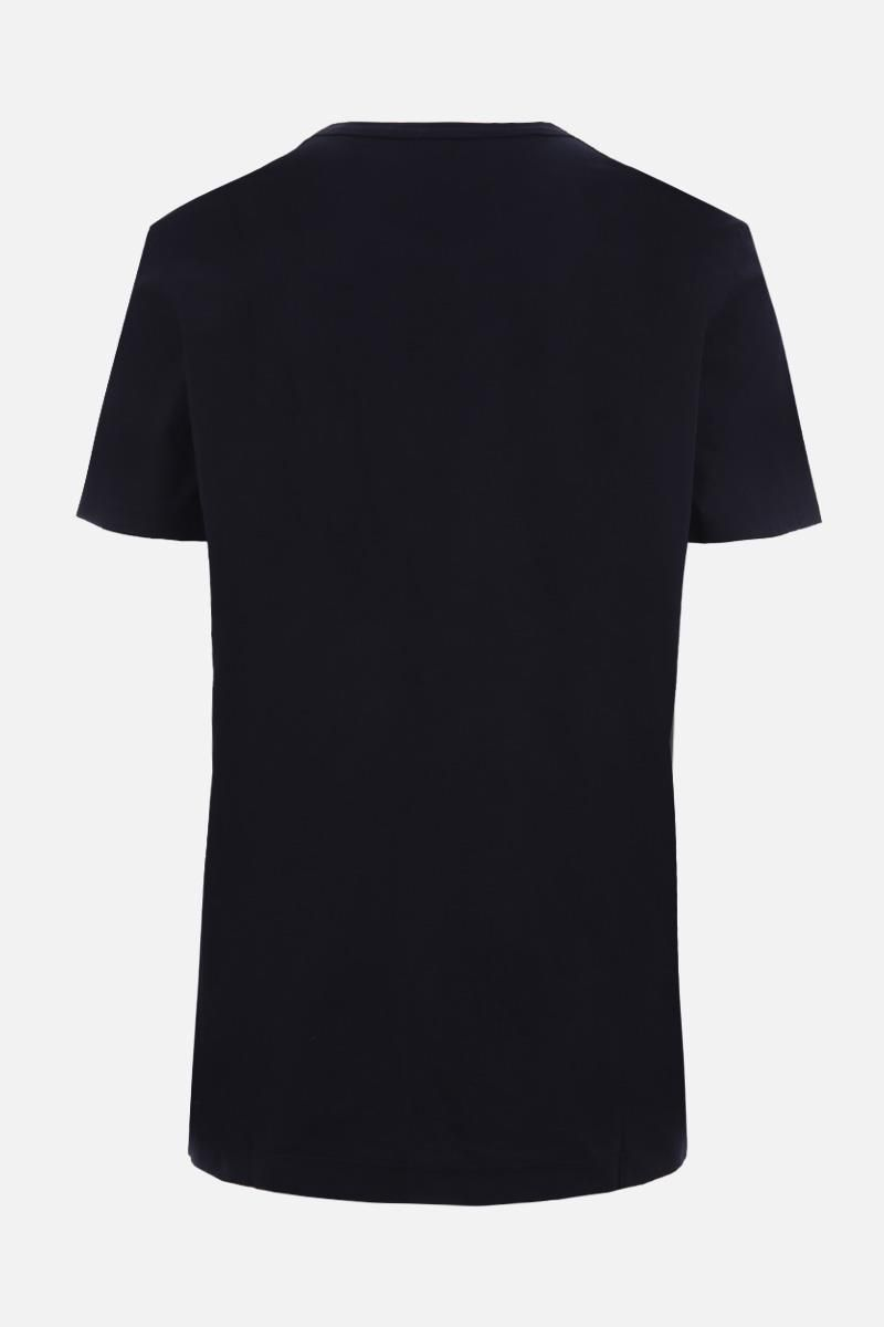 JAMES PERSE: t-shirt in jersey di cotone Colore Blu_2