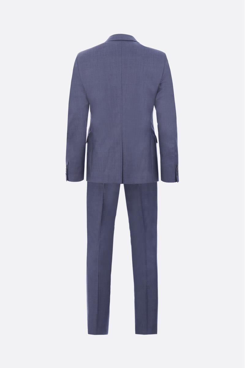PRADA: grisaille two pieces suit Color Blue_2