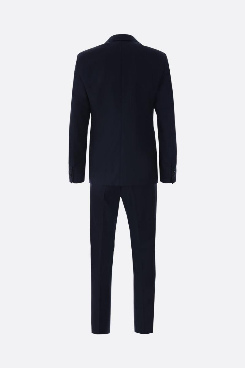 PRADA: lightweight wool tuxedo suit Color Blue_2