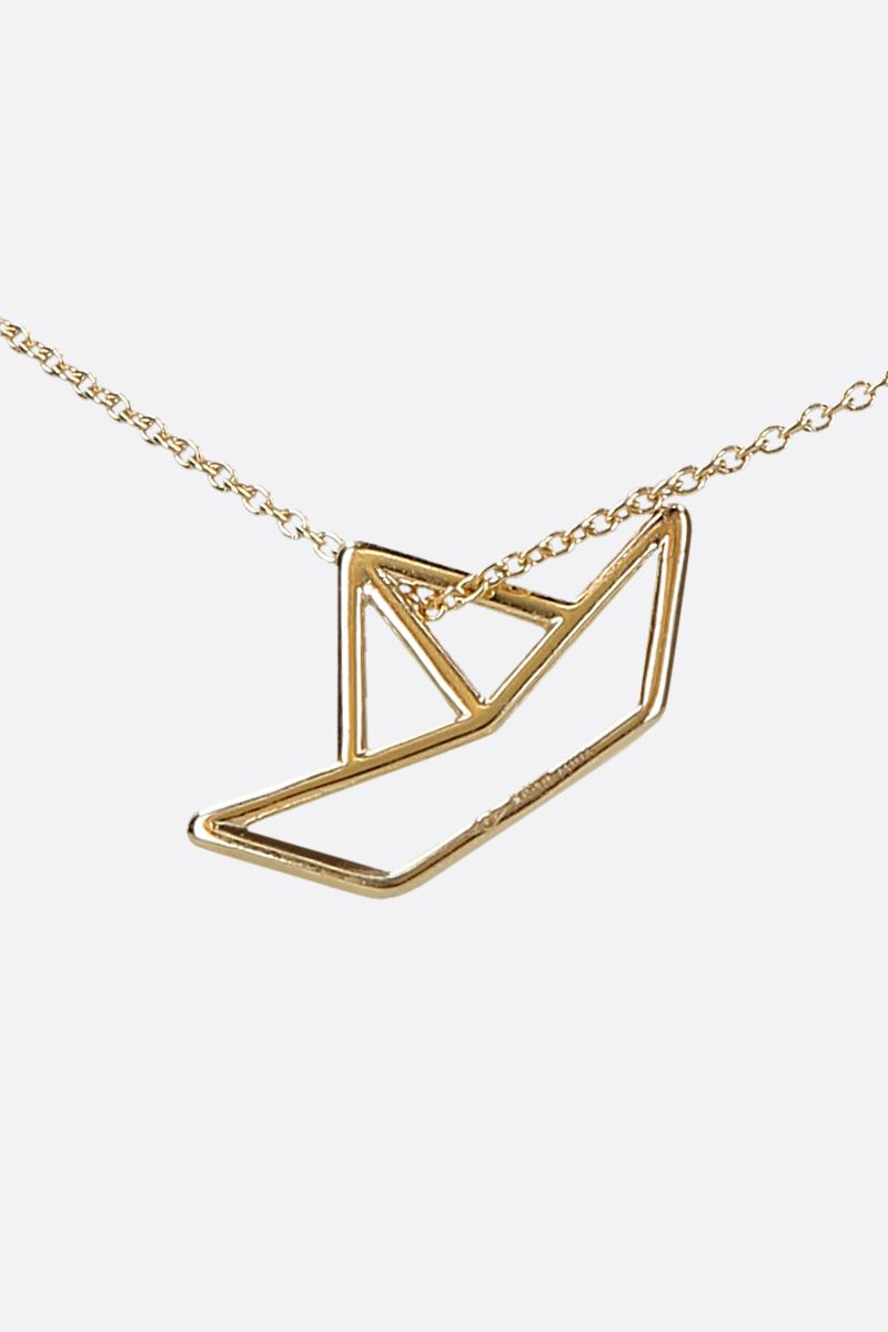 ALIITA: Barquito yellow gold necklace Color Gold_3