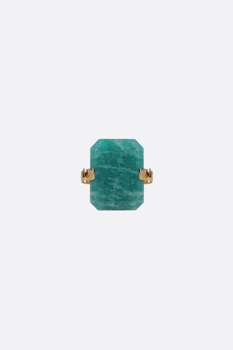 ALIITA: Sandwich yellow gold ring Color Gold_3