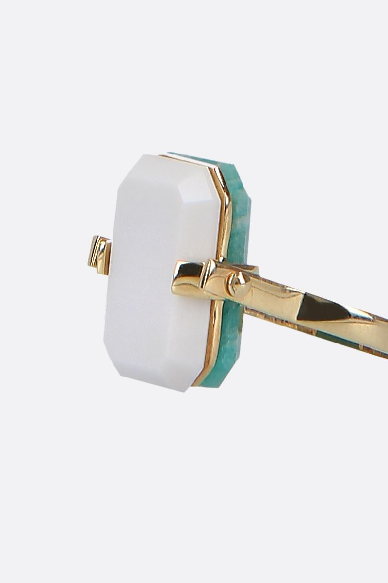 ALIITA: Sandwich yellow gold ring Color Gold_5