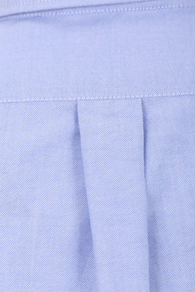 ASPESI: slim-fit oxford shirt Color Blue_3