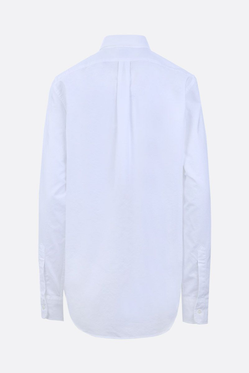 ASPESI: slim-fit oxford shirt Color White_2
