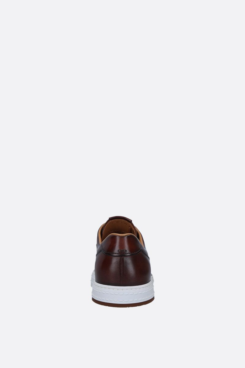 BERLUTI: Playtime sneakers in smooth leather Color Red_3
