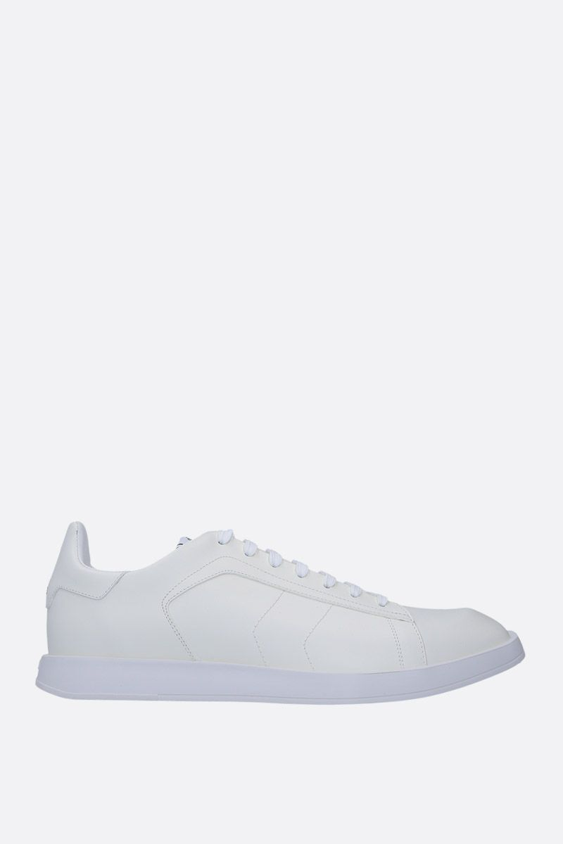 BERLUTI: Stellar sneakers in smooth leather Color White_1
