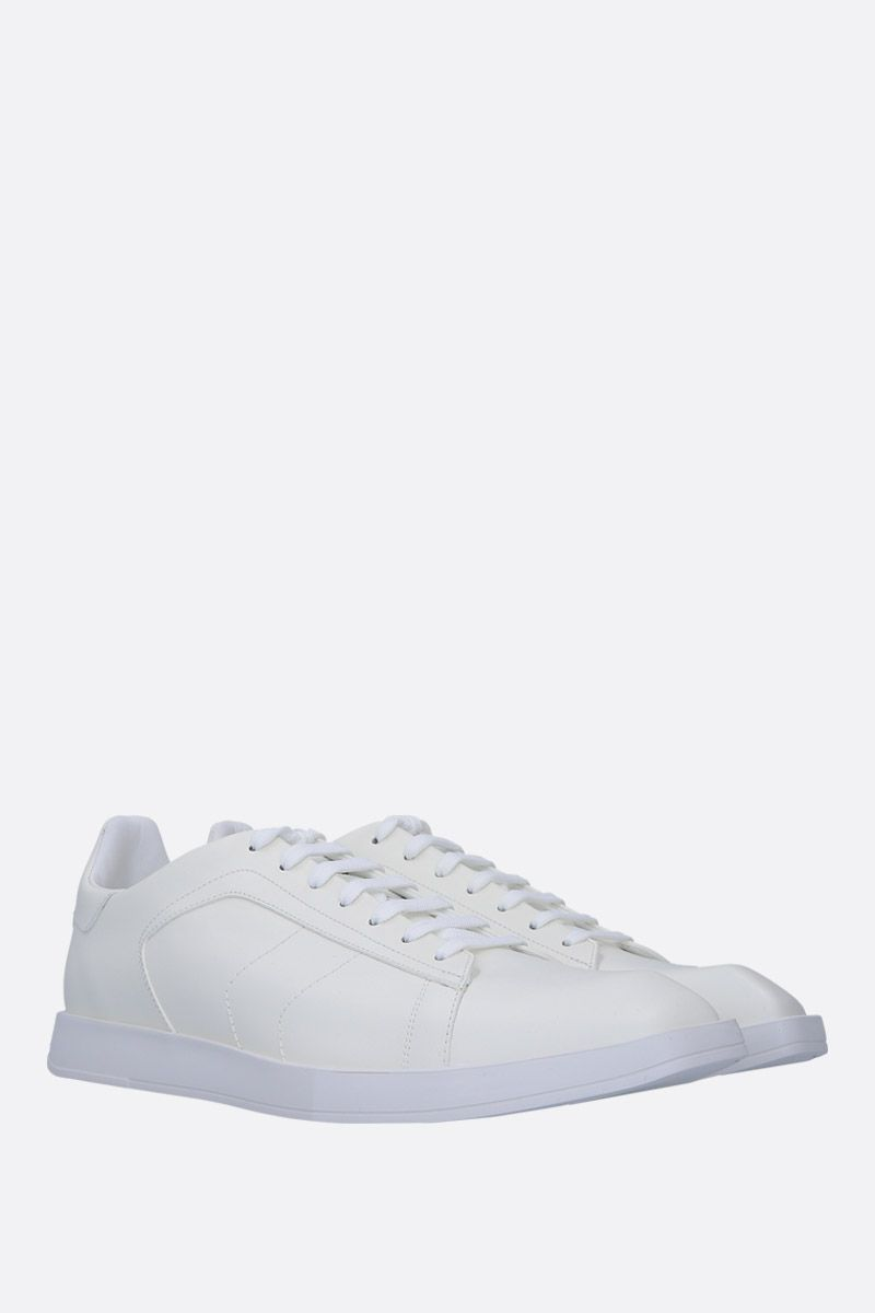 BERLUTI: Stellar sneakers in smooth leather Color White_2