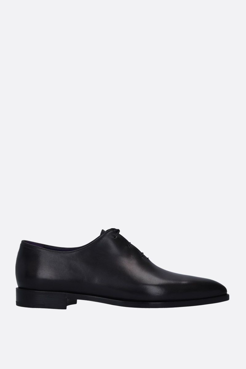 BERLUTI: Alessandro Demesure oxford shoes in smooth leather Color Black_1
