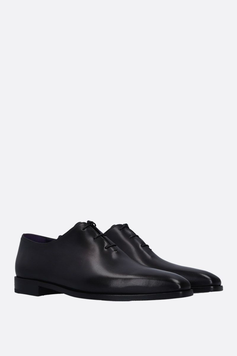 BERLUTI: Alessandro Demesure oxford shoes in smooth leather Color Black_2