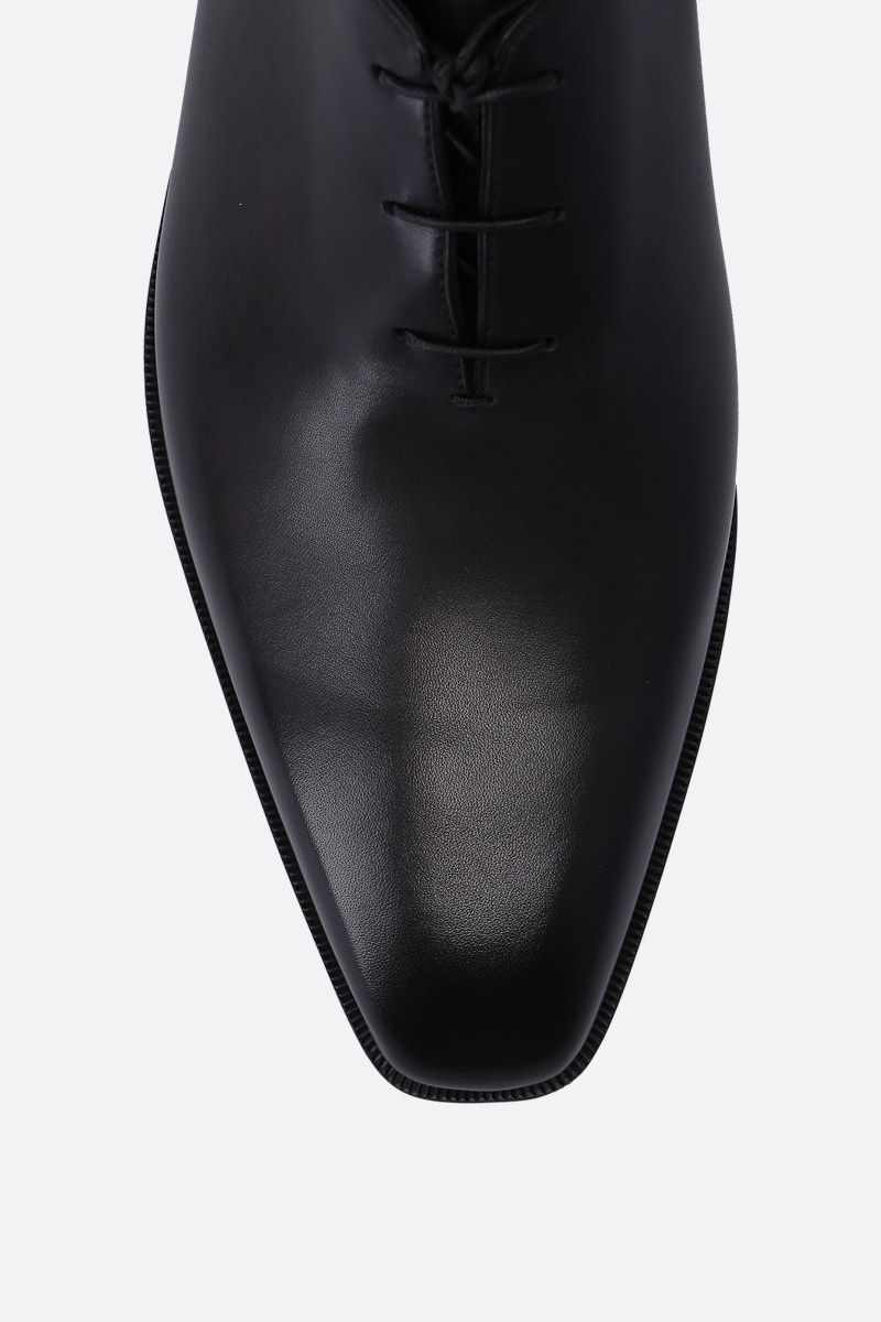 BERLUTI: Alessandro Demesure oxford shoes in smooth leather Color Black_4