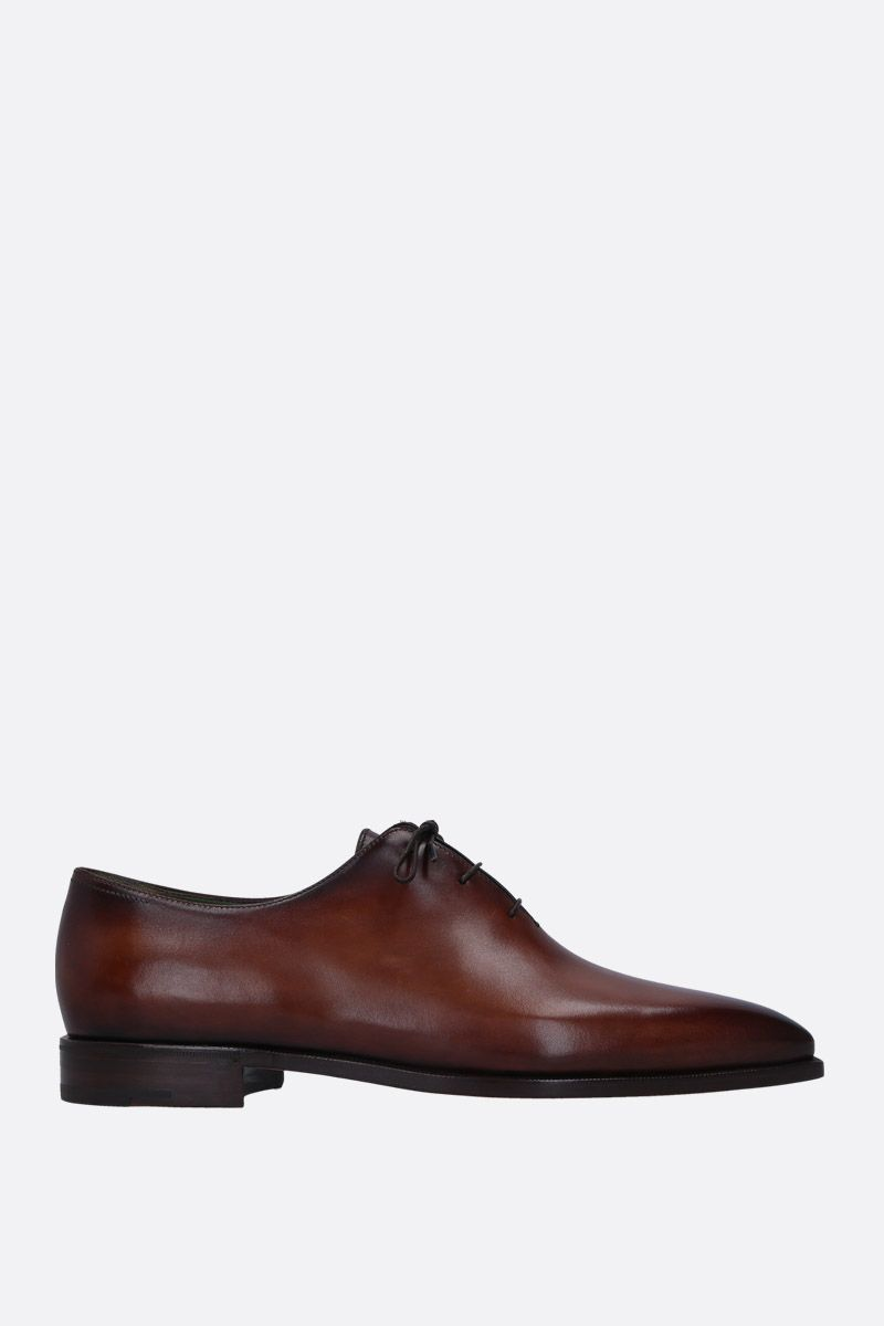 BERLUTI: Alessandro Demesure oxford shoes in smooth leather Color Red_1