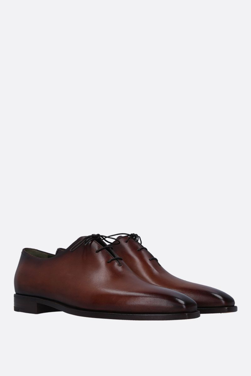 BERLUTI: Alessandro Demesure oxford shoes in smooth leather Color Red_2