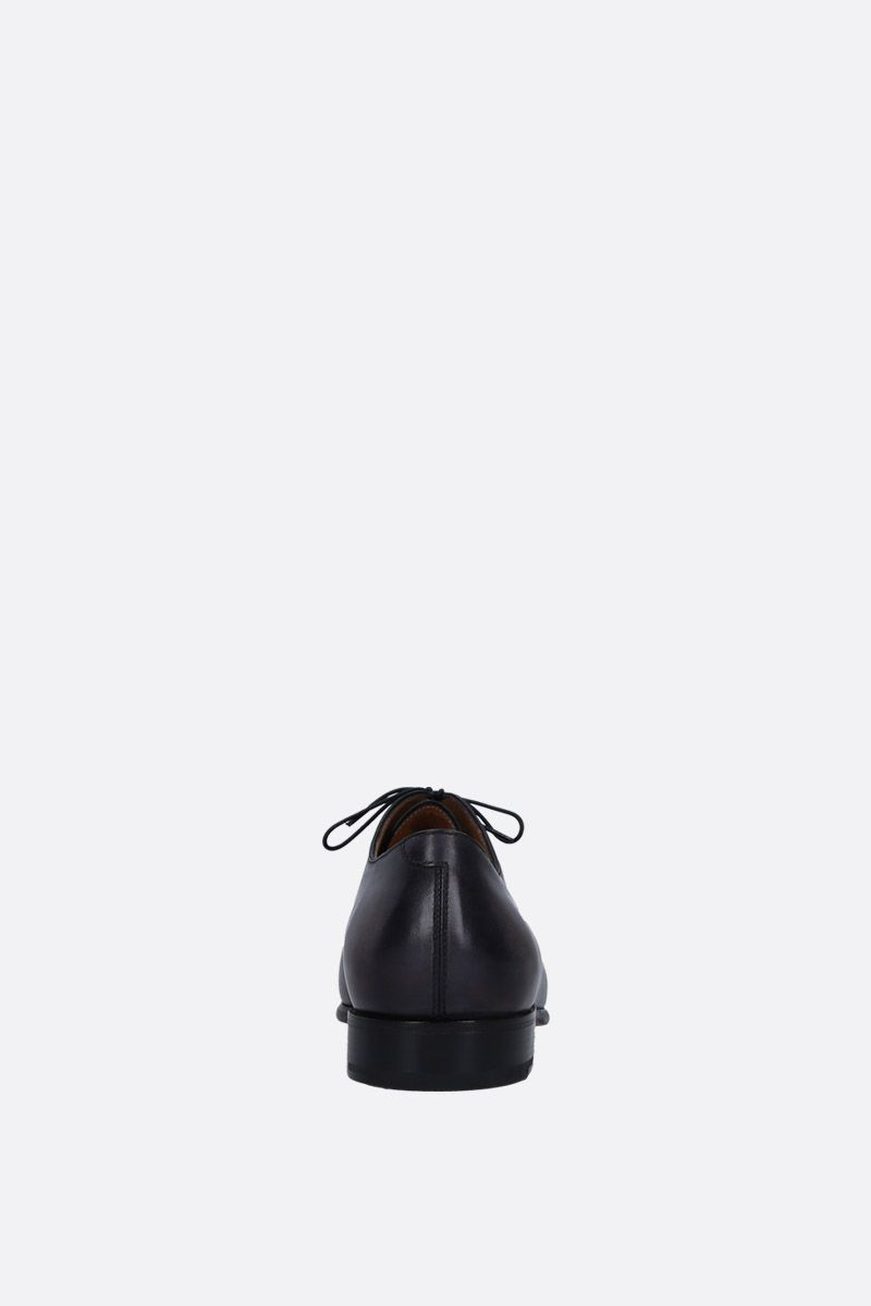 BERLUTI: Gaspar galet oxford shoes in smooth leather Color Black_3