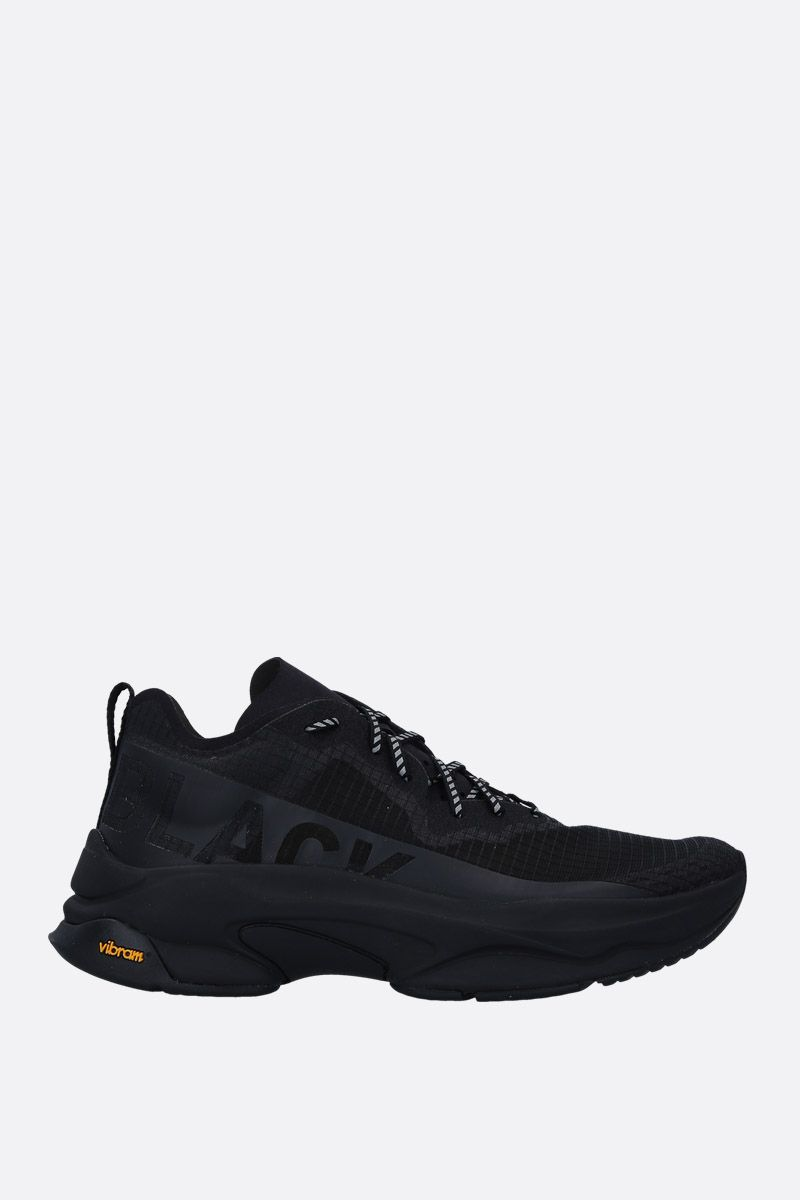 BRANDBLACK: Kite Racer sneakers in tech fabric Color Black_1