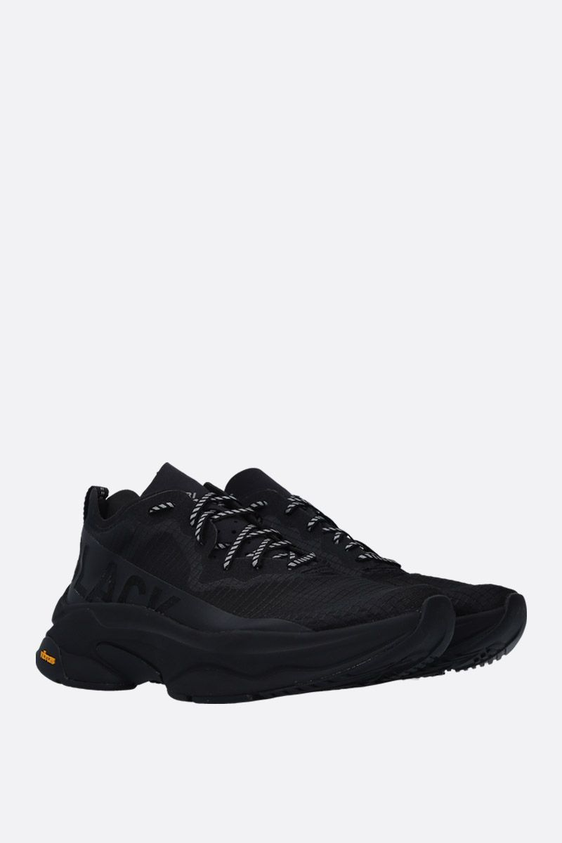 BRANDBLACK: Kite Racer sneakers in tech fabric Color Black_2